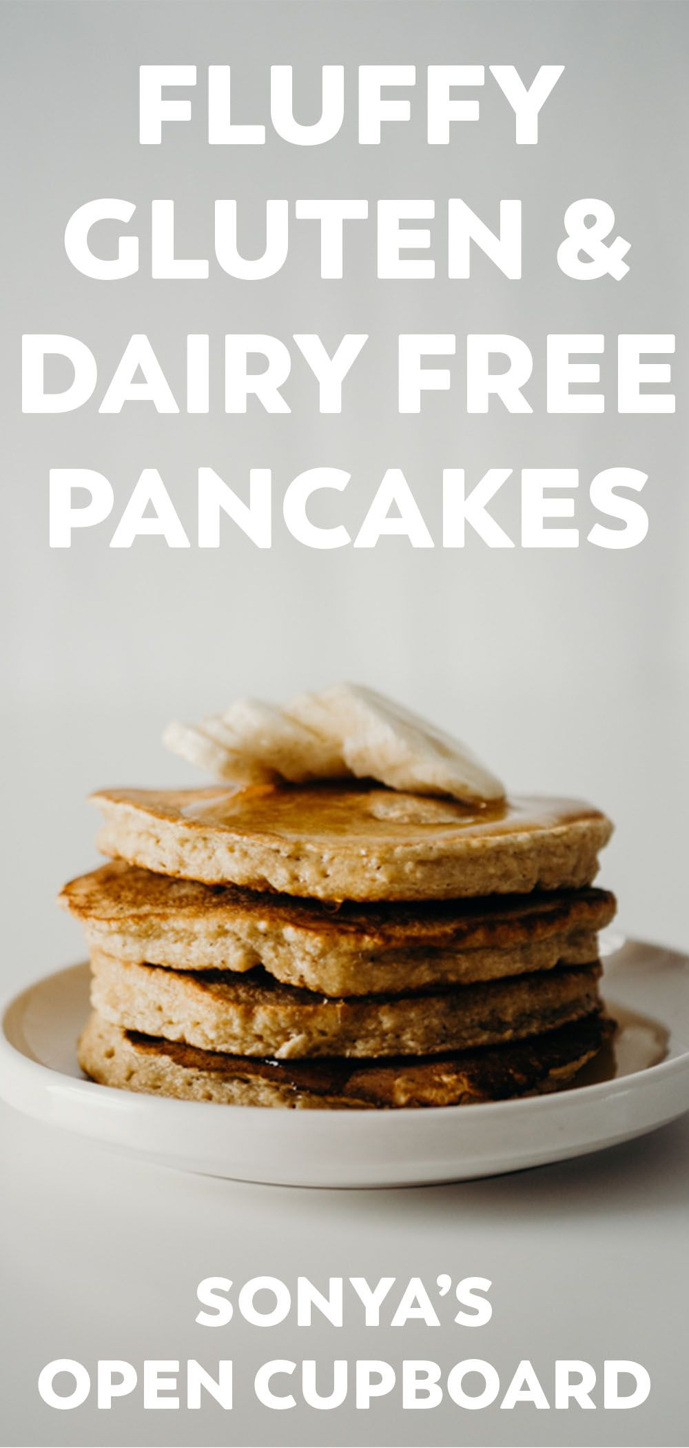 Fluffy Gluten And Dairy Free Pancakes In 2020 Dairy Free