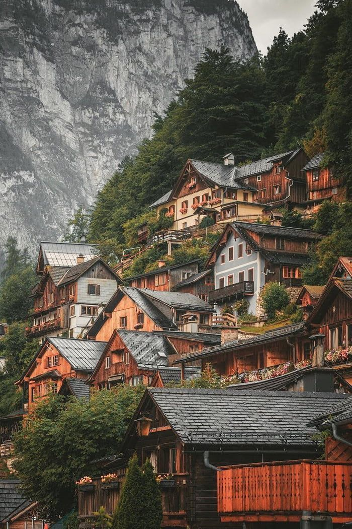 Small town of hallstatt, Austria