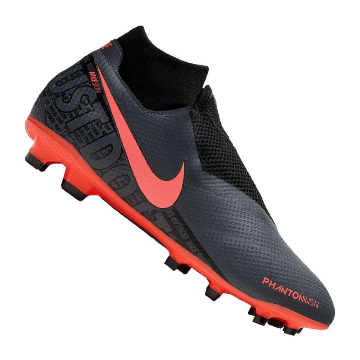 Nike Phantom Vsn Pro Df Fg M AO3266 080 football shoes black