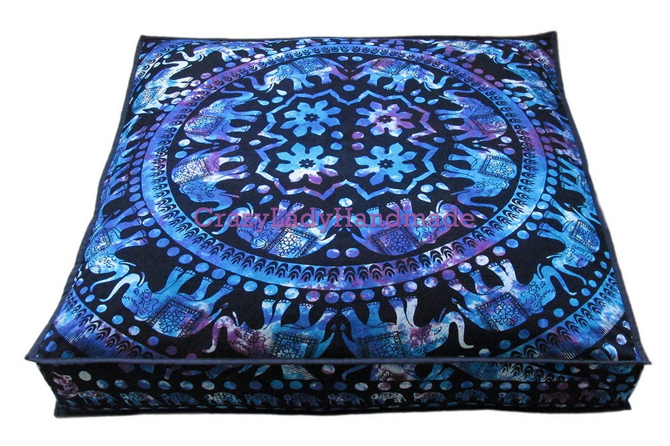 Meditation Cushion Poufs, Floor Cushion, Seating Floor