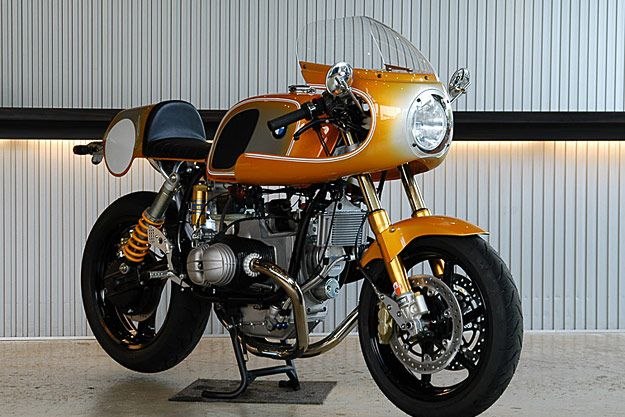 Bmw R100 Race Replica With Images Bmw Cafe Racer Cafe Racer