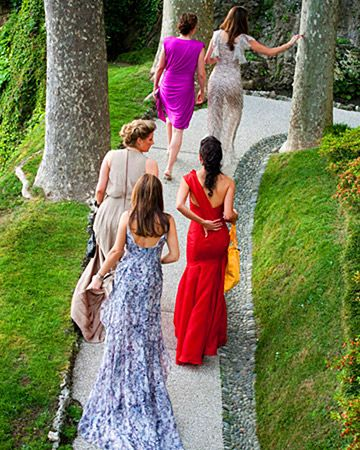 A Traditional Outdoor Destination Wedding In Lake Como Italy Wedding Attire Guest Wedding Guest Outfit Wedding Guest Dresses Long