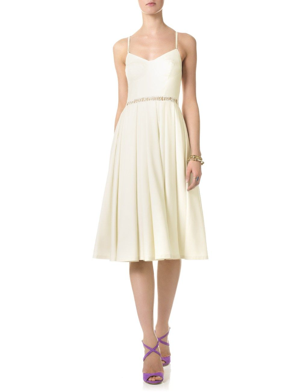 Ivory Wild Silk Insomnia Dress | Lena Lumelsky | Avenue32 - Perfection.
