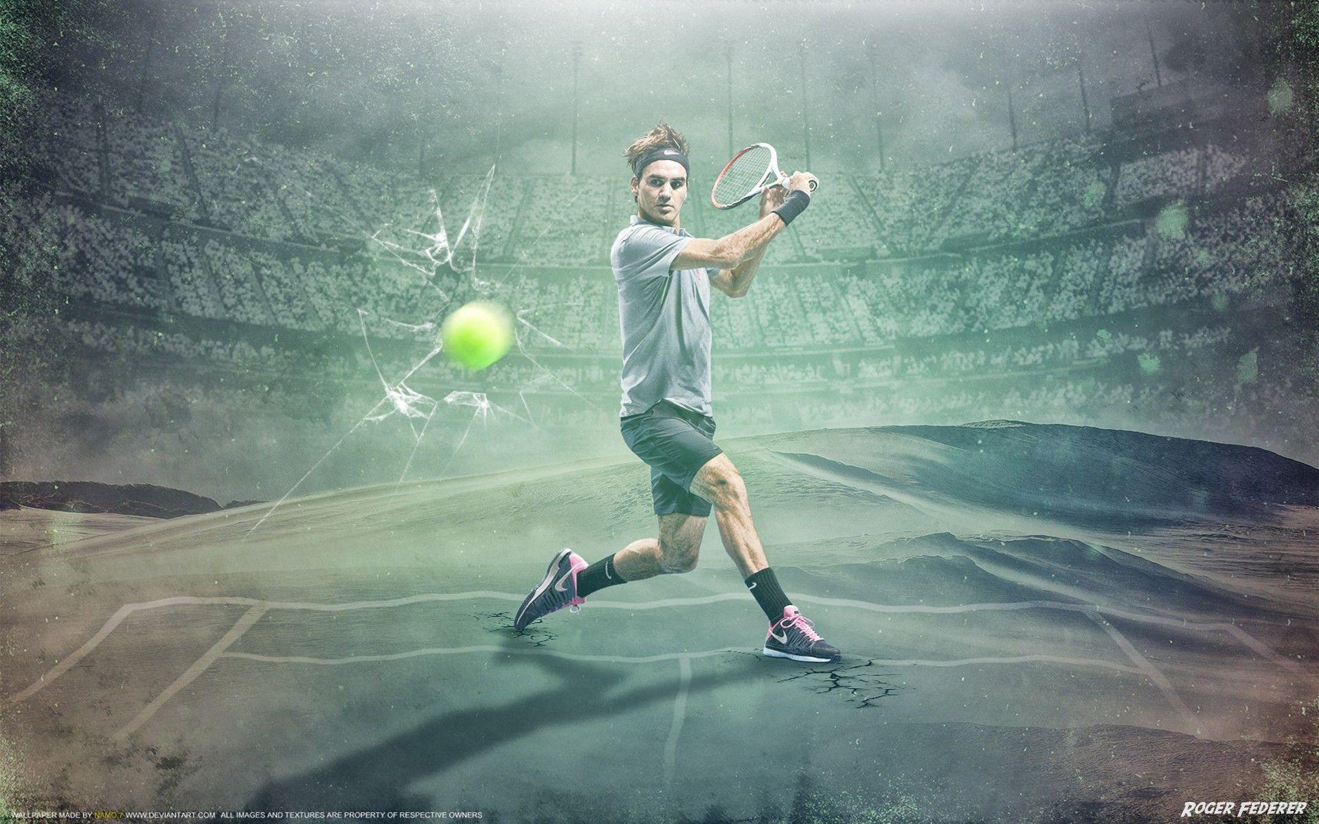 Roger Federer Tennis Player Stylish Image Wallpaper Best HD