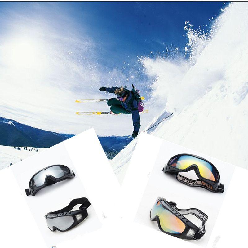 Occhiali da sci professionali doppio UV400 anti-fog grande maschera da sci occhiali sci snowboard uomo donna occhiali da neve BO #