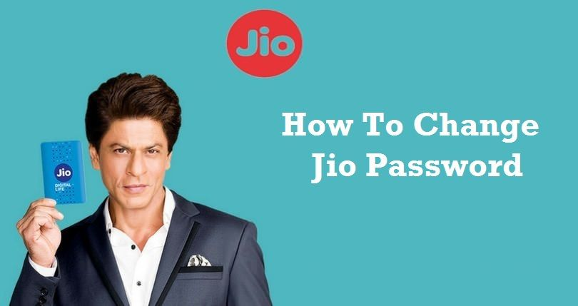 You can change the password of your Jio account either from
