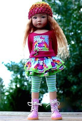 Kitty-Cutie-Halloween-Outfit-for-13-Effner-Little-Darling-by-Sharon. Ends 9/27/14. SOLD for $69.00.