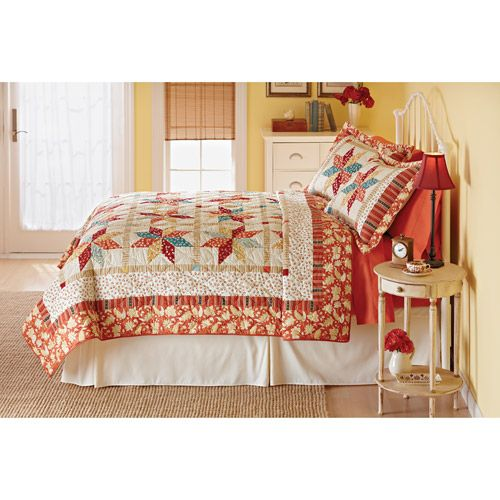 Walmart Better Homes And Gardens Eight Pointed Star Quilt