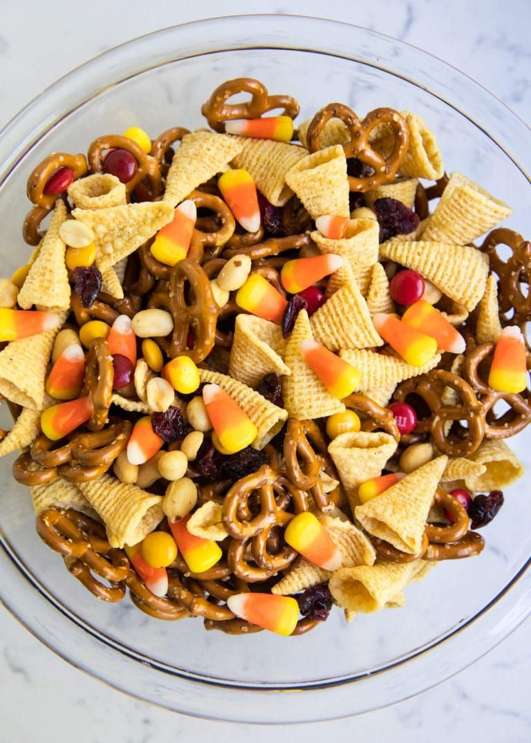 Thanksgiving blessing mix Recipe Thanksgiving snacks