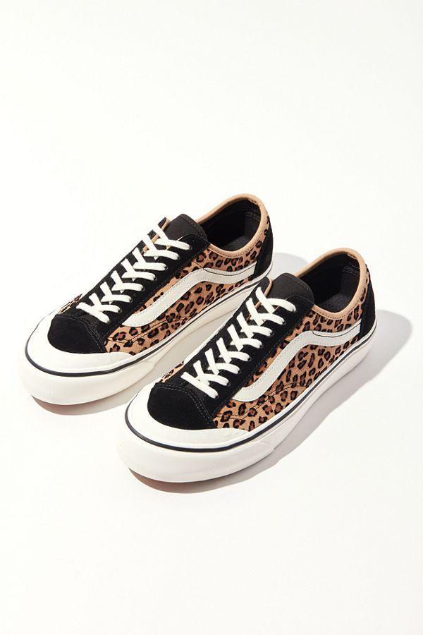 Vans Vans Old Skool Platform Skate Shoe Black Leopard from Journeys   ShapeShop