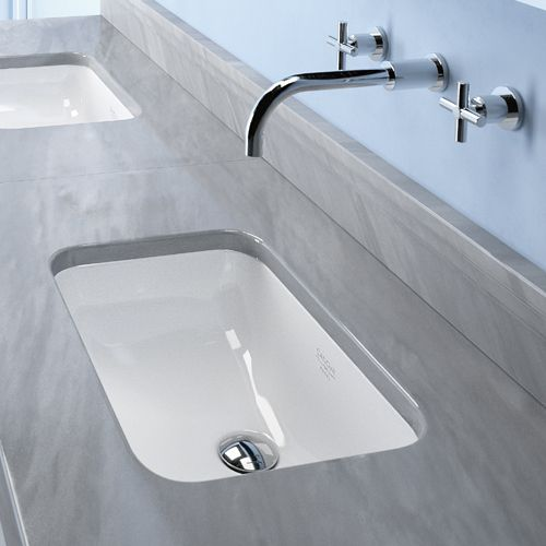 Catalano Canova Royal Rectangular Undercounter Basin Duravit Countertop An