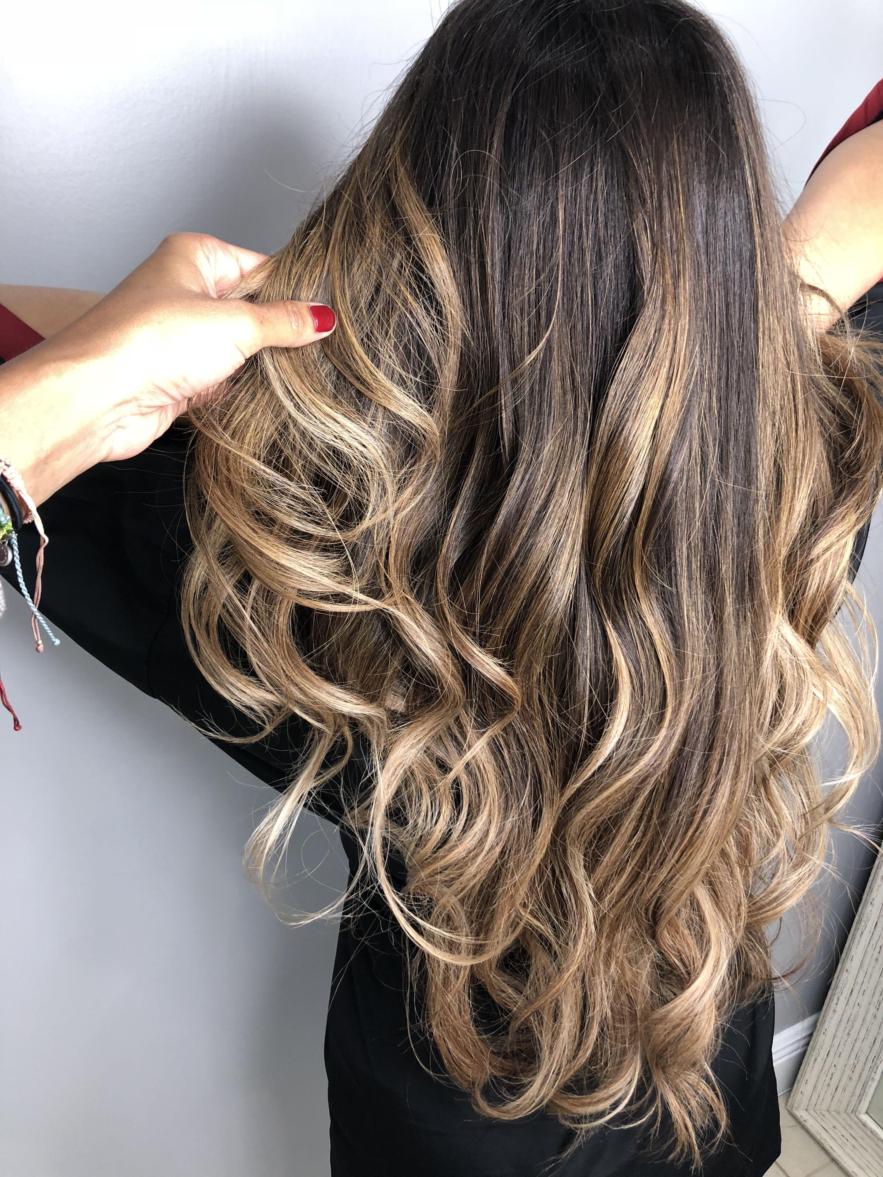 Balayage Ombre Latina Hair Latina Hair Hair Inspiration Balayage Hair