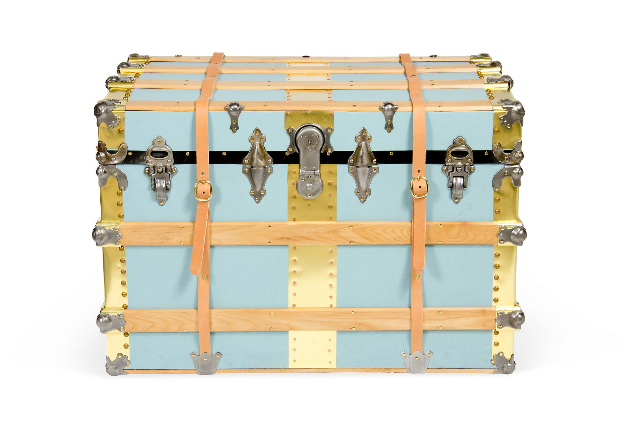 As many phases as I go through, my ultimate fave color combo will never change (Sarsaparilla Steamer Trunk, C. 1890)