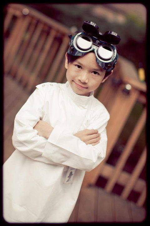 Mad Science Birthday Dr. Horrible Costume  sc 1 st  Pinterest & Mad Science Birthday: Dr. Horrible Costume | Party Planning ...