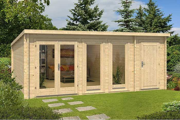 Gartenhaus mit 2 Räumen Vielfältige Nutzungsmöglichkeiten