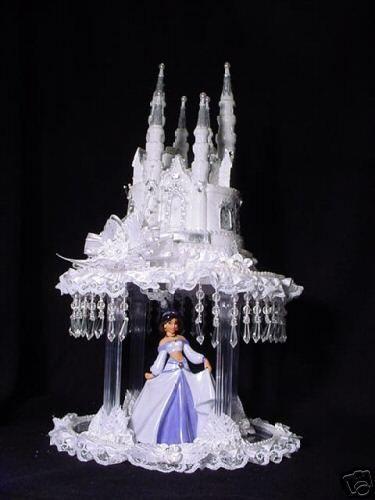 wedding cake topper with jasmine from aladdin cakepinscom