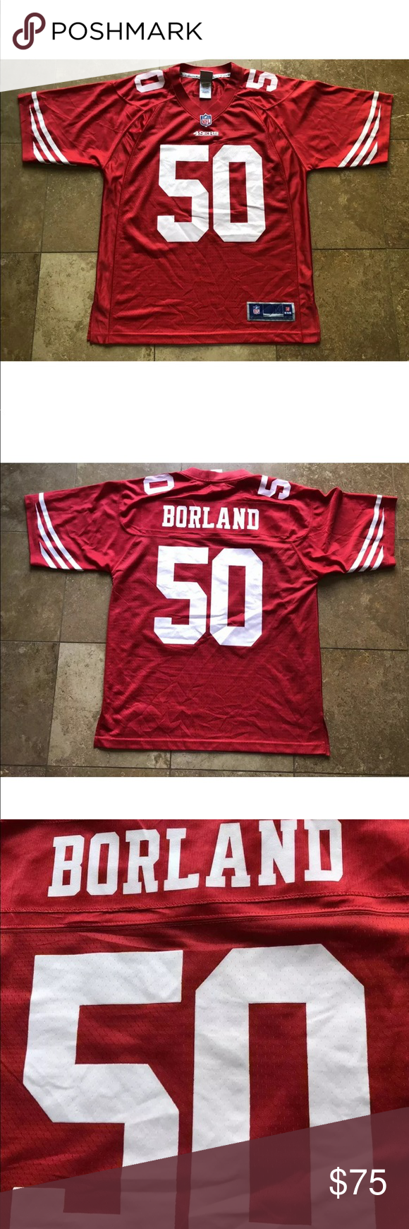 chris borland jersey