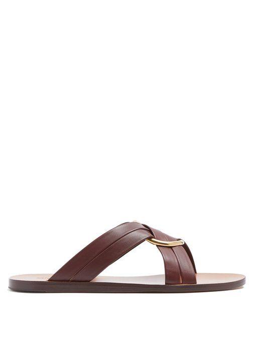 sale buy outlet order online Chloé ring embellished cross over sandals the cheapest sale online sale big sale hfpCa