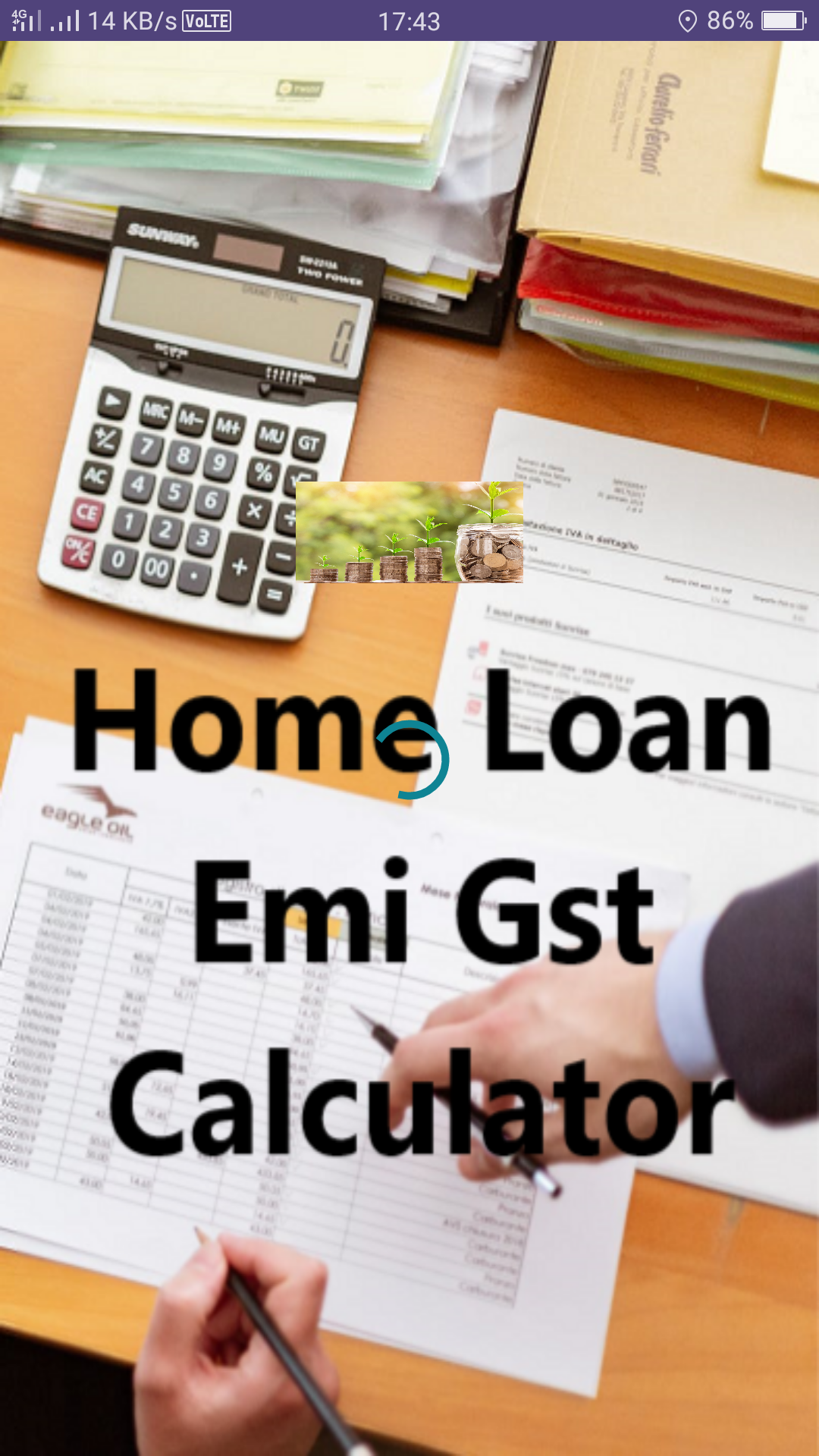 You Will Get Following In This App Emicalculator For Home Loan Carloan Personalloan In Loans For Bad Credit What Is Credit Score Financial Calculators