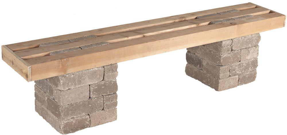 Pavestone Rumblestone™ Bench No. 1 Instructions #diy | DIY ...