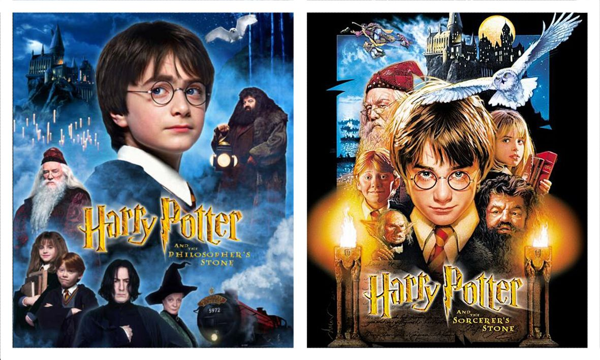 Harry Potter And The Philosopher S Stone Cover Coole Filme Harry Potter