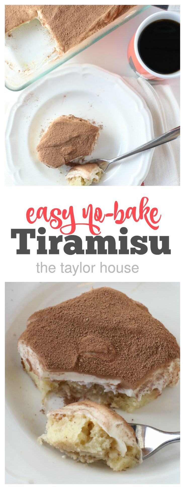 Easy No-Bake Tiramisu | RECIPES No Bake Desserts ...