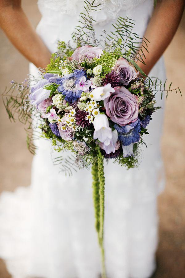 Brautstrauss Lila Blau Purple Flowers Hochzeit Blumen Wedding Blue
