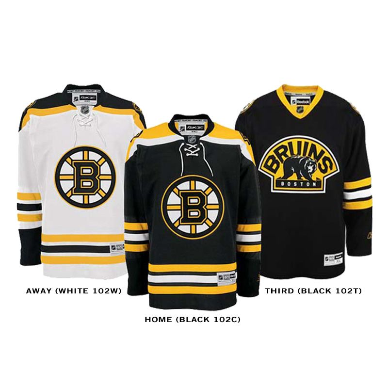 Boston bruins, Nhl hockey jerseys
