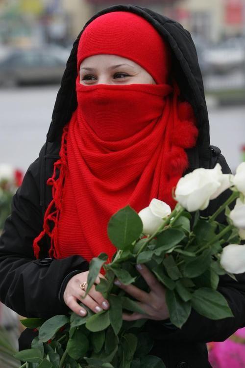 Chechen Sister Niqab Fashion Muslim Women Hijab Beautiful Hijab