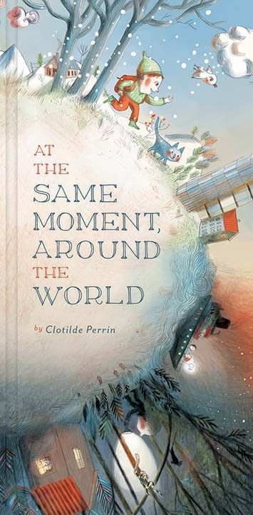 At the Same Moment Around the World