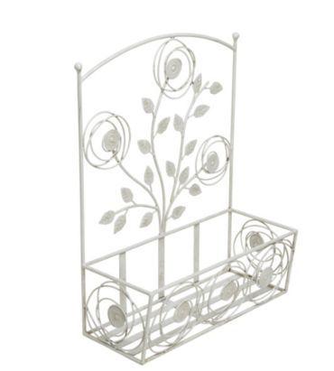Decorative 2-Piece Planter - White Wash, 0000004084242