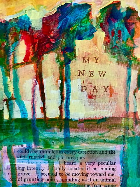 """Collage """"My New Day"""""""
