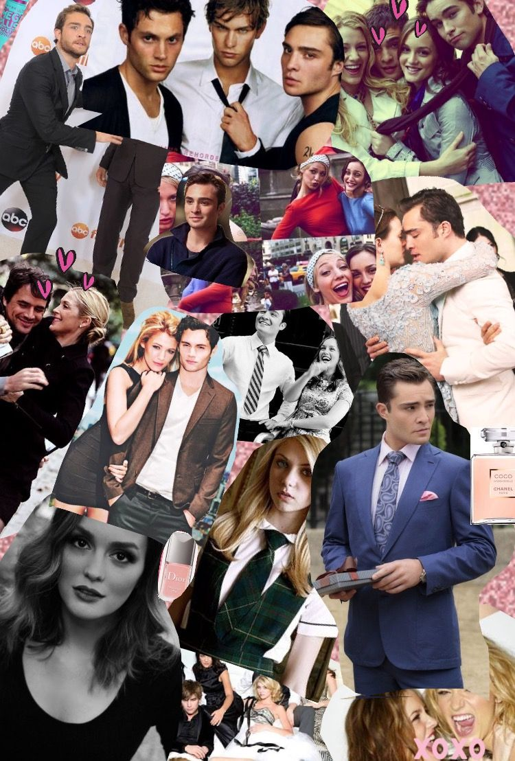 Chuck Bass Collage Tumblr wallpaper gossi...