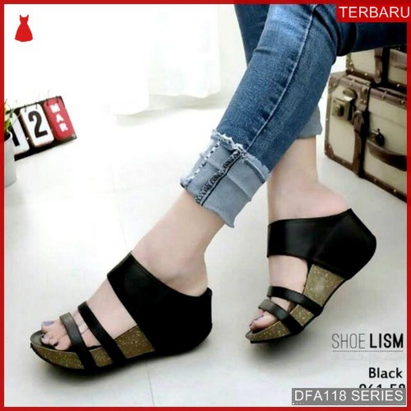 Dfa118s36 Ss20 Sandal Keren Alifa Wanita 2758 Dewasa Bmgshop