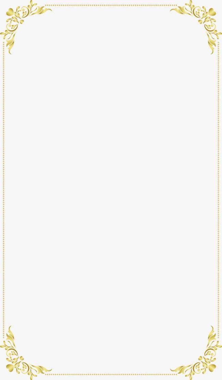 Continental exquisito marco dorado, Continental, Bien, Golden PNG y ...