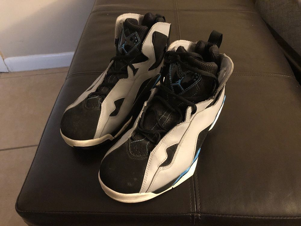 9ec8cc2a369fd1 ... where can i buy nike air jordan true flight black powder blue gray  white 342964 006