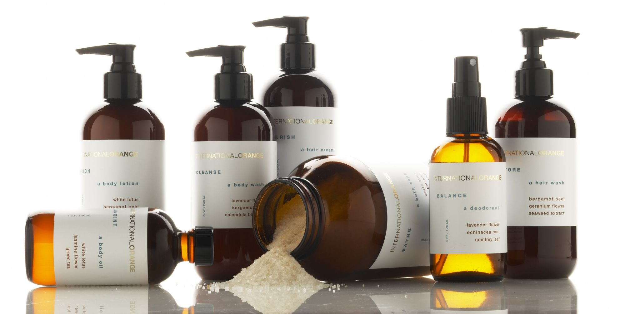 The careful selection of each ingredient in our product line reflects our strict standard of quality and purity. No synthetic elements are even considered. Each product is made with certified organic, wild-crafted or biodynamically grown ingredients of the highest integrity and are sourced from the finest available growers. All vegetable oils and butters are fair trade.