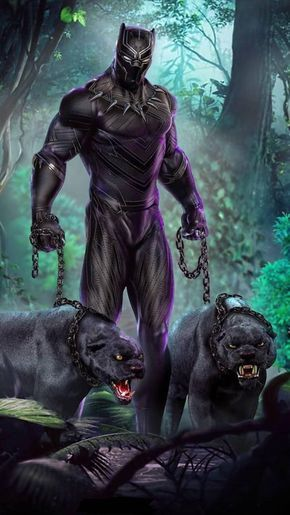 Black panther wallpaper by georgekev - 2d - Free on ZEDGE™