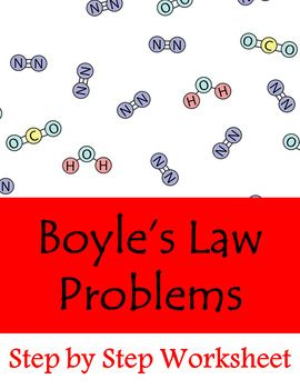 Boyle S Law Problems Worksheet With Images Basic Math Skills