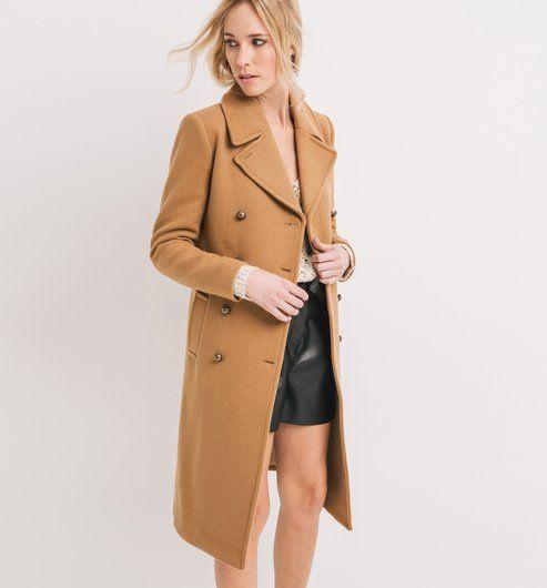 Mantel im Military-Stil camel - Promod | Fashion Faves | Pinterest ...
