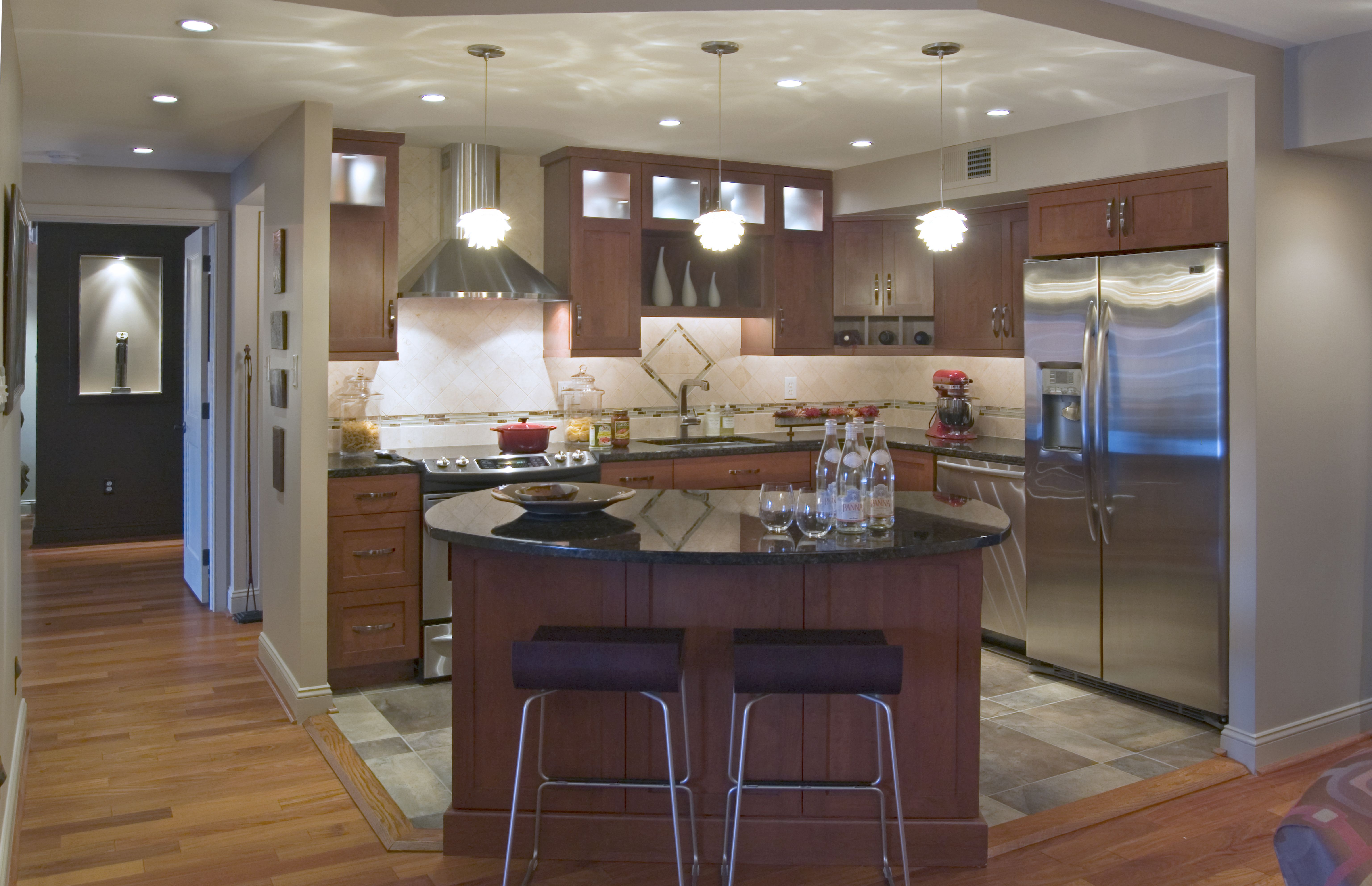 Pictures Of Renovated Kitchens House Construction Planset of dining room