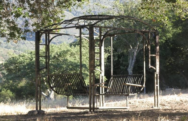 Arroyo Seco Wrought Iron Glider Swing. This One I Built