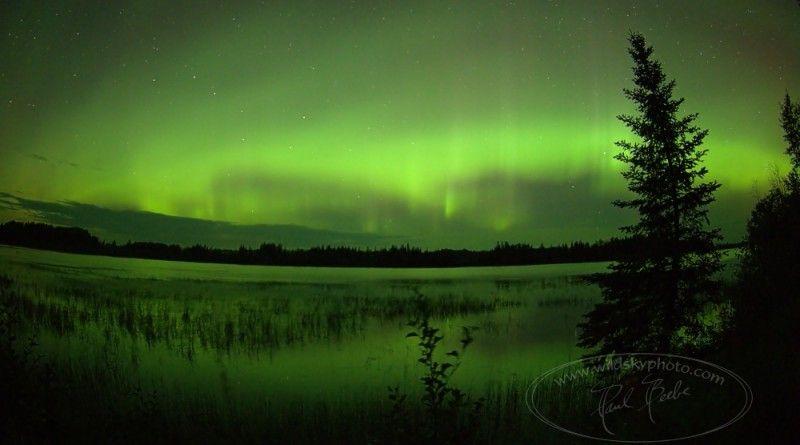 Auroras boreales desde Ontario, Canadá   El Universo Hoy