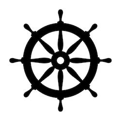 Stock Image Signs Symbols In 2021 Wheel Tattoo Ship Wheel Tattoo Boat Wheel
