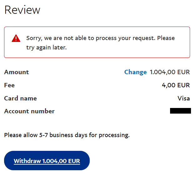 How To Withdraw Money From Your Paypal Account