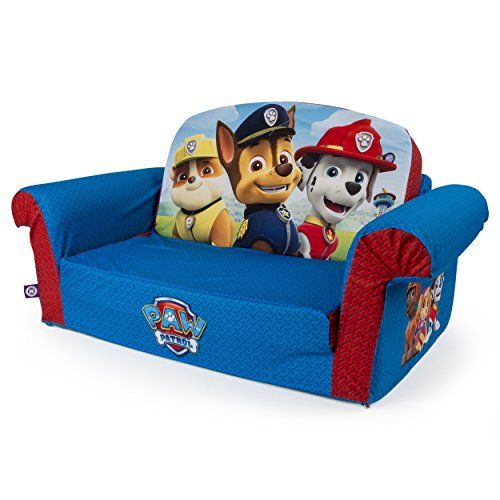 Marshmallow Furniture Paw Patrol 2-in-1 Flip Open Sofa, Convertable Couch into a Comfy Lounger, 29.25 X 16 X 14.75-Inch http://www.furnituressale.com/marshmallow-furniture-paw-patrol-2-in-1-flip-open-sofa-convertable-couch-into-a-comfy-lounger-29-25-x-16-x-14-75-inch/