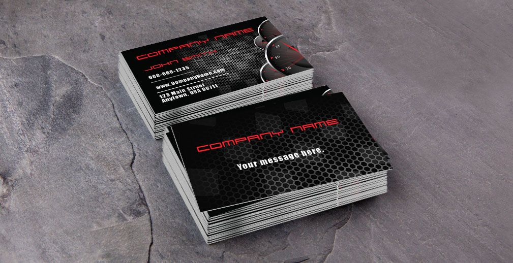 Business Cards Automotive Repair Images - Card Design And Card Template