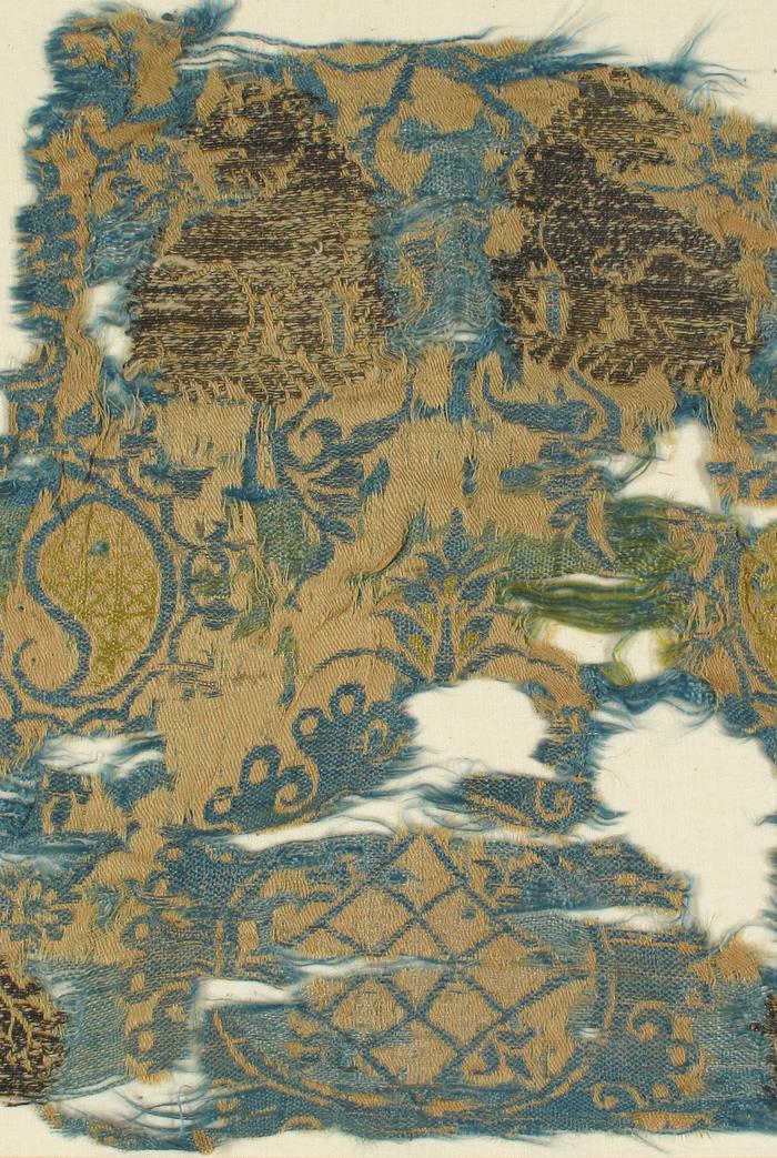 14th century Italian silk brocade | TREND: Old World