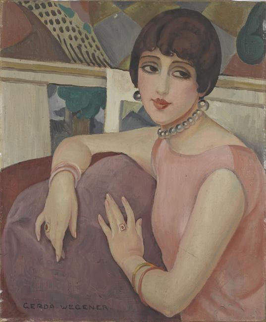 Lili Elbe Painted By Gerda Wegener Portre Resimler