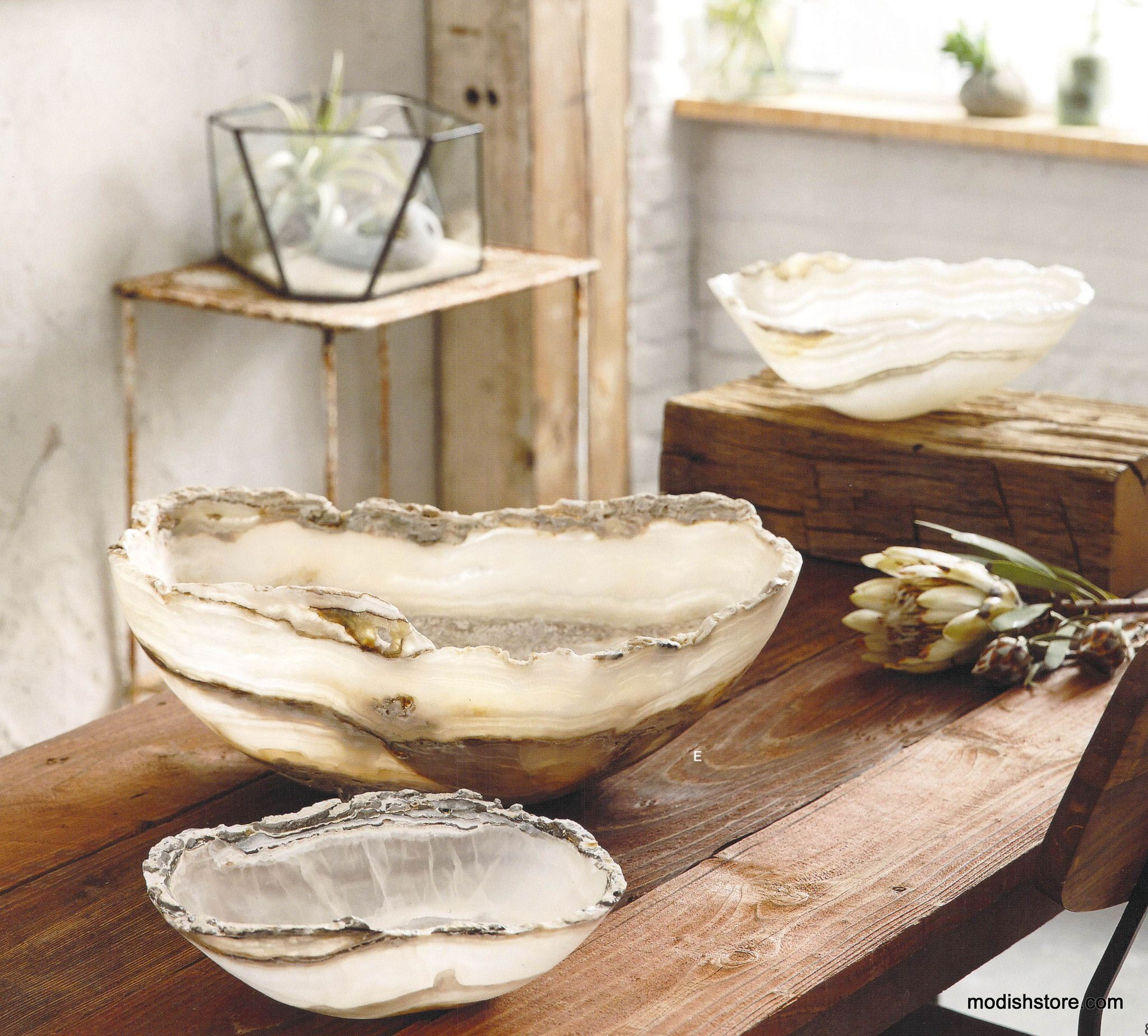 Decorating With Bowls Roost Raw Edge Onyx Bowl * Next Day Shipping *  Modish Store